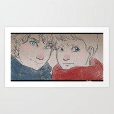 Potterlock Art Print