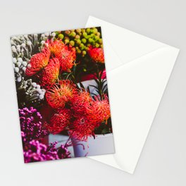 Pincushion Protea at Mong Kok Flower Market Stationery Cards
