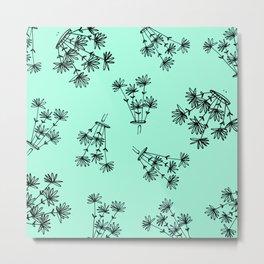 mint flower eaters Metal Print