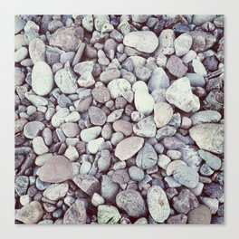 Pebble Texture Canvas Print