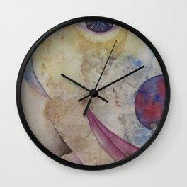 Béat...Naïf...Heureux Wall Clock