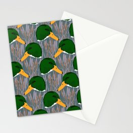 Mallard Duck Marsh Stationery Cards