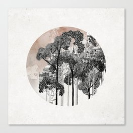 Crux - City in the Trees Canvas Print