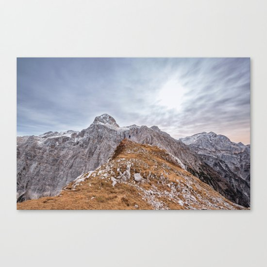 mountain landscape 7 Canvas Print