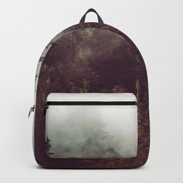 Mountain Morning Mist - Nature Photography Backpack