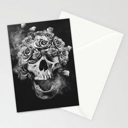 SKULL & ROSES I Stationery Cards