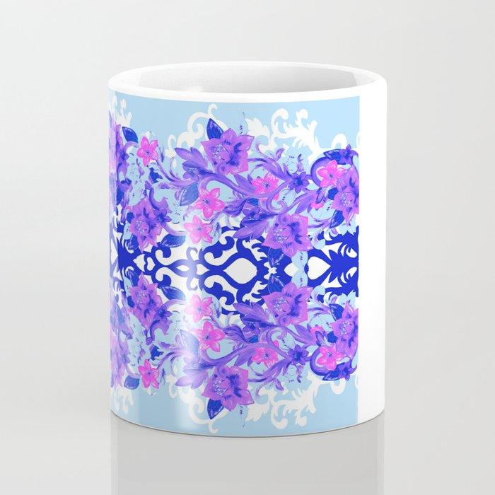 Baroque Blue Coffee Mug
