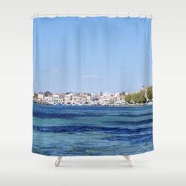 Aegina Views Shower Curtain