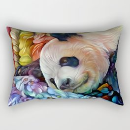 Sweet Panda Rectangular Pillow