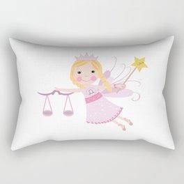 Libra zodiac sign Rectangular Pillow