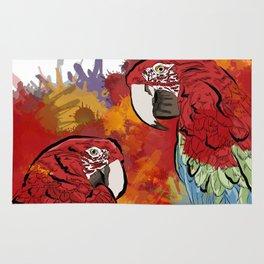 Macaws Rug