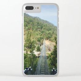 Bush track bridge Clear iPhone Case
