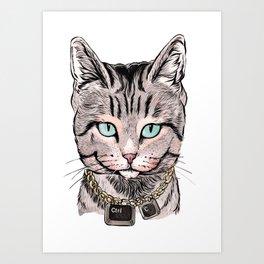 Copy Cat Art Print