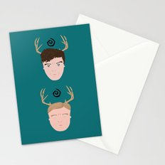 Rust & Marty from True Detective Stationery Cards