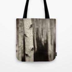 Silver Birch Tote Bag