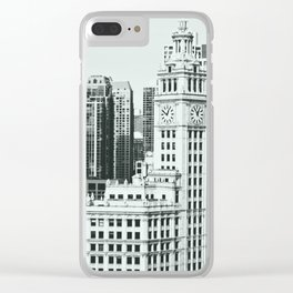 The Clock Tower Clear iPhone Case