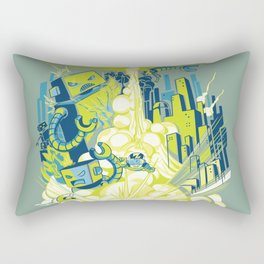 Smash! Zap!! Zooom!! - Annoying Kidd Rectangular Pillow