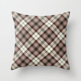 Scottish tartan #20 Throw Pillow