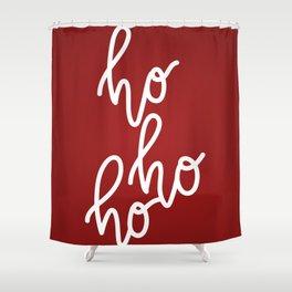 HoHoHo Merry Christmas Shower Curtain