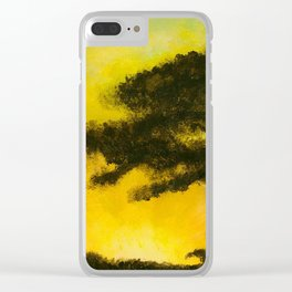 The Empty Warmth of the Sunset's Shine Clear iPhone Case