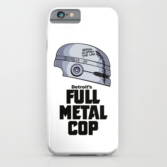Full Metal Cop iPhone & iPod Case