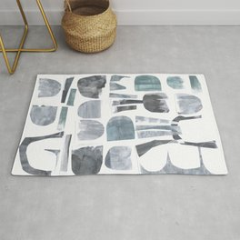 Divided Nature Rug