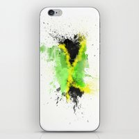 jamaica iPhone & iPod Skins featuring Jamaica by Haych