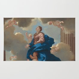 "Fine Art,""The Assumption of the Virgin"",Masterpiece,on,HOME DECOR,Wall Art,iPhone cases,iPhone sleev Rug"