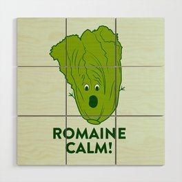 ROMAINE CALM Wood Wall Art