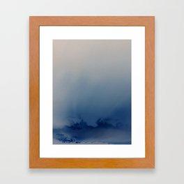 Minnehaha Blue Framed Art Print
