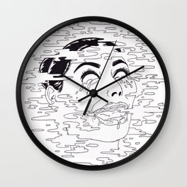 KrAzY kIm!! Wall Clock