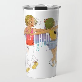 Latin Dance Travel Mug
