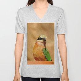 Somali bee-eater Unisex V-Neck