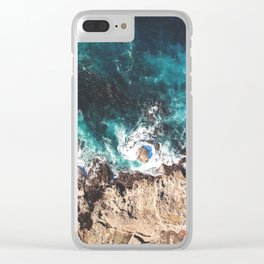 Whirlpool on the Rocks Clear iPhone Case