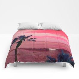 Coral Horizon Comforters