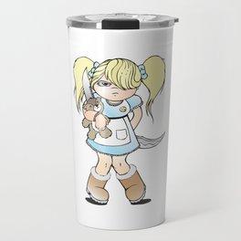 Grumpy Girl Travel Mug