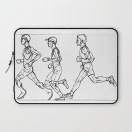 Transition through Triathlon Runners A Laptop Sleeve