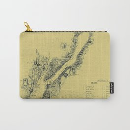 Map of Lake George 1855 Carry-All Pouch