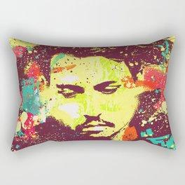 JOHNNY DEEP urban art Rectangular Pillow