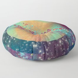 Color Planet Floor Pillow