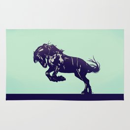 Dark Blue Stallion Rug