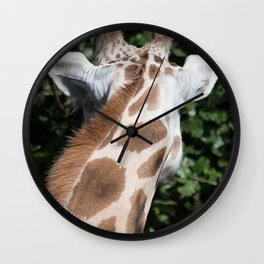 Look Away Wall Clock