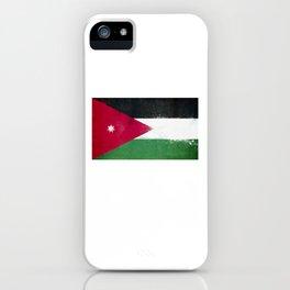 Jordan Flag design   Jordanian design iPhone Case