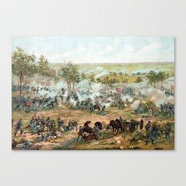 Battle Of Gettysburg -- American Civil War Canvas Print