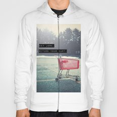 Grocery Cart Rage  Hoody
