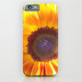Watercolour Sunflower by Reay of Light iPhone Case