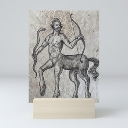 The Centaur of the Folóï Oak Forest Mini Art Print