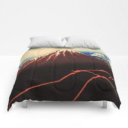 Rainstorm Beneath the Summit (Sanka hakū or 山下白雨) Comforters