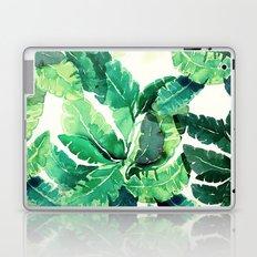 green summer leaves Laptop & iPad Skin