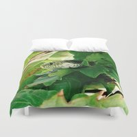 snake Duvet Covers featuring Snake by Stecker Photographie